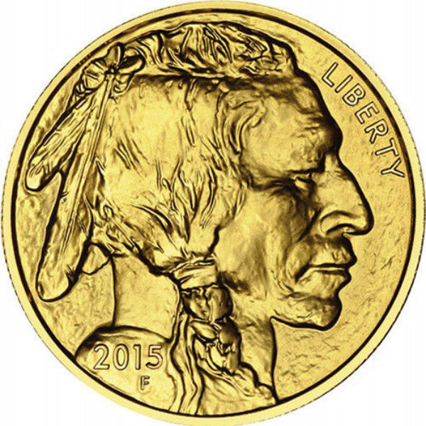 1 oz Pièce Or Pur American Buffalo Fine Gold Coin .9999 2020