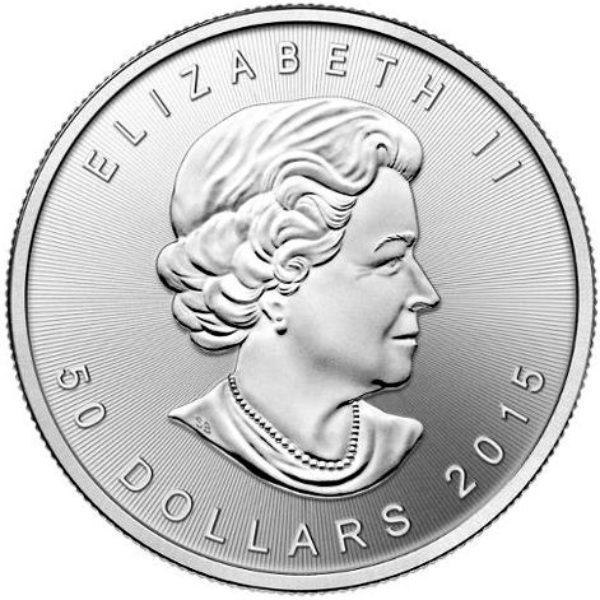 1 oz Pièce Palladium Pur Monnaie Royale Canadienne Maple Leaf Royal Canadian Mint Fine Palladium Coin .9995