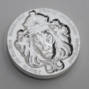 2 oz Pièce Argent Pur Scottsdale Mint Stacker Fine Silver Coin .999